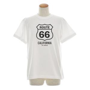 ルート66 Tシャツ ルート 66 モノクロ ジャスト 半袖Tシャツ メンズ レディース カリフォルニア アメカジ 大きいサイズ ホワイト 白 S M L XL XXL XXXL ブランド|stay|04