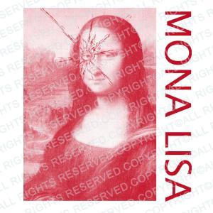 ジャスト Tシャツ MONA LISA 半袖Tシャツ メンズ レディース 大きいサイズ モナ・リザ モナリザ ダ・ヴィンチ 白 S M L XL XXL XXXL 3L 4L  ブランド|stay|04