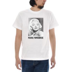 マリリンモンロー Tシャツ マリリン・モンロー フォト ジャスト 半袖Tシャツ メンズ レディース 大きいサイズ ティーシャツ 白 S M L XL XXL XXXL ブランド|stay