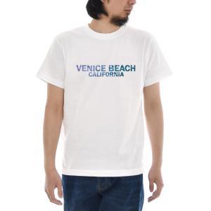フォトTシャツ Tシャツ ヴェニス ビーチ ベニス ジャスト 半袖Tシャツ バックプリント 海 波 写真 メンズ レディース 大きいサイズ S M L XL 3L 4L ブランド|stay|03