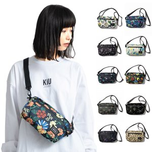 KiU キウ バッグ ウォータープルーフ ミニショルダーバッグ サコッシュ レディース メンズ 防水 はっ水 総柄 ブランド WATERPROOF MINI SHOULDER BAG K68|stay