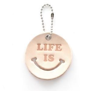 ライフ イズ アート Life is ART Life is Smile ウォータープルーフキャンバスポーチ 2トーン 巾着 バッグ アクセサリーケース メンズ レディース[M便 1/1]|stay|18