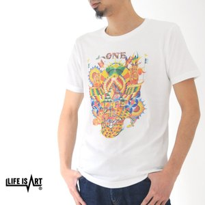ライフ イズ アート Life is ART Tシャツ ONE T-Shirt[M便 1/1]|stay