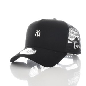 ニューエラ new era キャップ 帽子 9FORTY A-Frame MLB ニューヨーク ヤンキース NEW YORK メッシュキャップ 5パネル メジャーリーグ ブランド 黒 11715702|stay