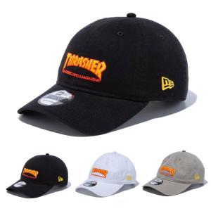ニューエラ new era NEWERA キャップ THRASHER スラッシャー コラボ 9TWENTY 920 帽子 マガジンロゴ メンズ レディース ブラック 黒 12860658 12860659 12860663|stay
