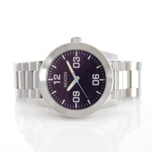 ニクソン NIXON 腕時計 コーポラル SS パープル NA346230-00 ウォッチブランド|stay|02