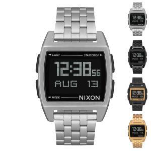 ニクソン NIXON 腕時計 Base ベース 時計 デジタル ウォッチ クロノグラフ ステンレス メタル メンズ レディース 10気圧防水 日本正規品 A1107|stay