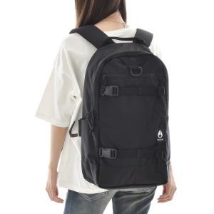 NIXON ニクソン バッグ リュック ランサック バックパック デイパック ザック メンズ レディース 通勤 通学 サーフィン 黒 Ransack Backpack C3025|stay