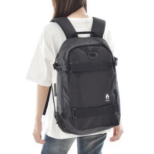 NIXON ニクソン バッグ リュック ガンマ バックパック デイパック ザック メンズ レディース 通勤 通学 サーフィン 黒 Gamma Backpack C3024|stay