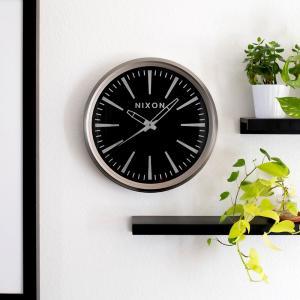 ニクソン NIXON 時計 壁掛け時計 ウォールクロック セントリー センチュリー クォ―ツ インテリア サーフィン おしゃれ プレゼント Sentry Wall Clock C3075|stay
