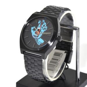 ニクソン NIXON 腕時計 タイムテラー ブラック スクリームミングハンド NA0452894-00 コラボレーション 限定 ジム フィリップス サンタクルーズ|stay