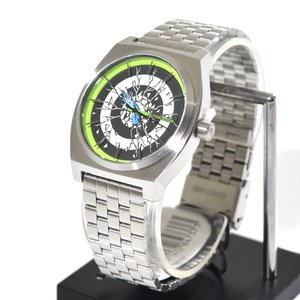 ニクソン NIXON 腕時計 タイムテラー シルバー ロスコップ NA0452897-00 コラボレーション 限定 ジム フィリップス サンタクルーズ ロブ・ロスコップ|stay