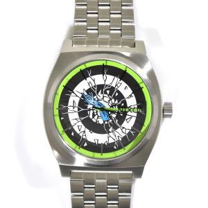 ニクソン NIXON 腕時計 タイムテラー シルバー ロスコップ NA0452897-00 コラボレーション 限定 ジム フィリップス サンタクルーズ ロブ・ロスコップ|stay|02