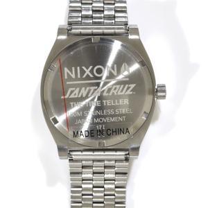 ニクソン NIXON 腕時計 タイムテラー シルバー ロスコップ NA0452897-00 コラボレーション 限定 ジム フィリップス サンタクルーズ ロブ・ロスコップ|stay|03