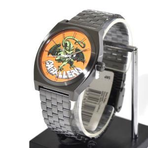 ニクソン NIXON 腕時計 タイムテラー ガンメタル キャバレロ NA0452839-00 コラボ 限定 パウエル ペラルタ ボーンズ ブリゲード スティーブ・キャバレロ|stay