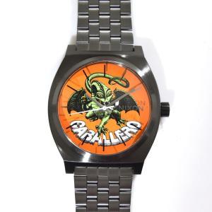 ニクソン NIXON 腕時計 タイムテラー ガンメタル キャバレロ NA0452839-00 コラボ 限定 パウエル ペラルタ ボーンズ ブリゲード スティーブ・キャバレロ|stay|02