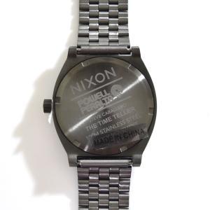ニクソン NIXON 腕時計 タイムテラー ガンメタル キャバレロ NA0452839-00 コラボ 限定 パウエル ペラルタ ボーンズ ブリゲード スティーブ・キャバレロ|stay|03