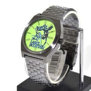 ニクソン NIXON 腕時計 タイムテラー ガンメタル マウンテン NA0452841-00 コラボレーション 限定 パウエル ペラルタ ボーンズ ブリゲード ランス・マウンテン|stay