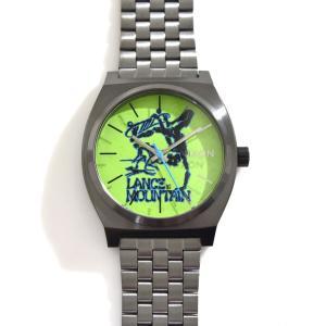 ニクソン NIXON 腕時計 タイムテラー ガンメタル マウンテン NA0452841-00 コラボ 限定 パウエル ペラルタ ボーンズ ブリゲード ランス・マウンテン|stay|02