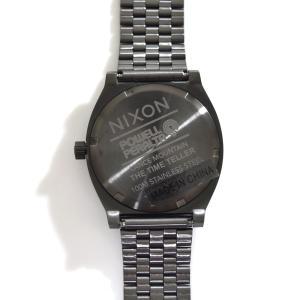 ニクソン NIXON 腕時計 タイムテラー ガンメタル マウンテン NA0452841-00 コラボ 限定 パウエル ペラルタ ボーンズ ブリゲード ランス・マウンテン|stay|03