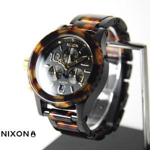 ニクソン NIXON 腕時計 38-20 クロノ オールブラック/トートイズ NA404679-00 ウォッチブランド【取寄せ商品】|stay
