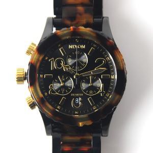 ニクソン NIXON 腕時計 38-20 クロノ オールブラック/トートイズ NA404679-00 ウォッチブランド【取寄せ商品】|stay|04