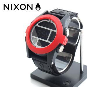ニクソン NIXON 腕時計 BAJA オール ブラック レッド メンズ ウォッチブランド|stay