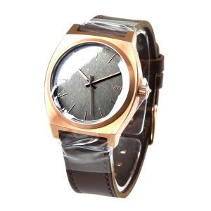 ニクソン NIXON TELLER 腕時計 メンズ レディース タイムテラー サーフィン ローズゴールド ガンメタル ブラウン ホーウィン THE TIME TELLER NA0452001-00|stay