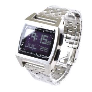 ニクソン NIXON 腕時計 デジタル メンズ ベース ブラック THE BASE NA1107000-00 サーフィン ウォッチ 防水 ステレンススチール SS|stay