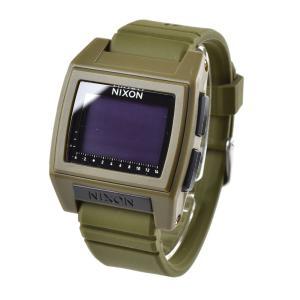 ニクソン NIXON 腕時計 デジタル メンズ レディース ベース タイド プロ サープラス 防水 おしゃれ ブランド ウォッチ THE BASE TIDE PRO SURPLUS NA12121085-00|stay