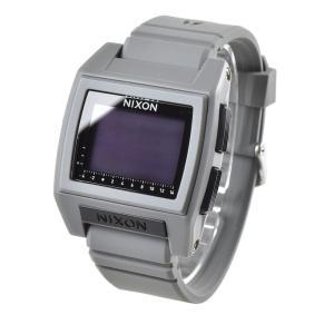 ニクソン NIXON 腕時計 デジタル メンズ レディース ベース タイド プロ グレー 灰色  防水 おしゃれ ブランド THE BASE TIDE PRO GREY NA1212145-00|stay