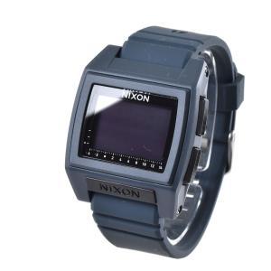 ニクソン NIXON 腕時計 デジタル メンズ レディース ベース タイド プロ ダークスレート 防水 おしゃれ ブランド THE BASE TIDE PRO DARK SLATE NA12122889-00|stay