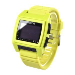 ニクソン NIXON 腕時計 デジタル メンズ レディース ベース タイド プロ ライム 防水 おしゃれ ブランド 2018春夏 THE BASE TIDE PRO LIME NA1212536-00|stay