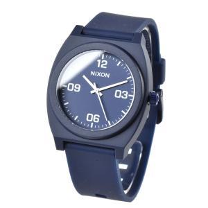 ニクソン NIXON TELLER 腕時計 メンズ レディース タイムテラー サーフィン タイムテラーPコープ マットネイビー ホワイト TIME TELLER P CORPP NA12483010-00|stay