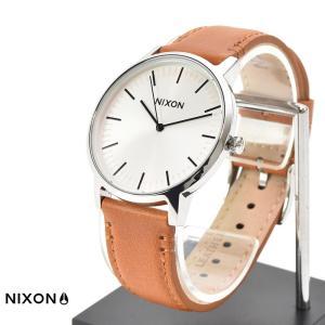 ニクソン NIXON 腕時計 ポーター レザー PORTER LEATHER ホワイト サンレイ×サドル NA10582442-00|stay