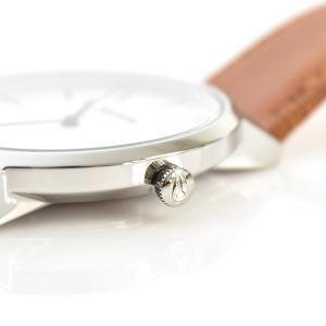 ニクソン NIXON 腕時計 ポーター レザー PORTER LEATHER ホワイト サンレイ×サドル NA10582442-00 メンズ|stay|05