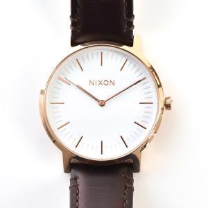 ニクソン NIXON 腕時計 THE PORTER LEATHER ポーター レザー ローズゴールド×ブラウン NA10582524-00 メンズ レディース ウォッチ【取寄せ商品】|stay|04