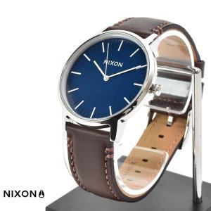 ニクソン NIXON 腕時計 ポーター レザー PORTER LEATHER ネイビー×ブラウン NA1058879-00【取寄せ商品】|stay