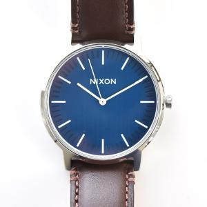 ニクソン NIXON 腕時計 ポーター レザー PORTER LEATHER ネイビー×ブラウン NA1058879-00【取寄せ商品】|stay|04