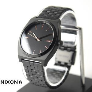 ニクソン NIXON 腕時計 タイムテラー アセテート オールブラック×ローズゴールド NA045957-00 メンズ レディース ウォッチ【取寄せ商品】|stay