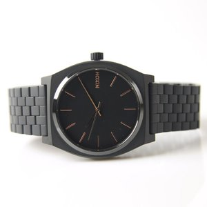 ニクソン NIXON 腕時計 タイムテラー アセテート オールブラック×ローズゴールド NA045957-00 メンズ レディース ウォッチ【取寄せ商品】|stay|02