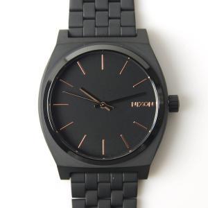 ニクソン NIXON 腕時計 タイムテラー アセテート オールブラック×ローズゴールド NA045957-00 メンズ レディース ウォッチ【取寄せ商品】 stay 04