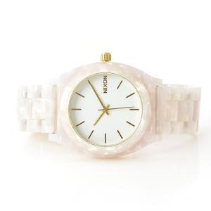 ニクソン NIXON 腕時計 タイムテラー アセテート ホワイト グラニート×ゴールド NA3272031-00 ウォッチ【取寄せ商品】 メンズ|stay|02
