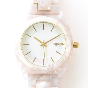 ニクソン NIXON 腕時計 タイムテラー アセテート ホワイト グラニート×ゴールド NA3272031-00 ウォッチ【取寄せ商品】 メンズ|stay|04