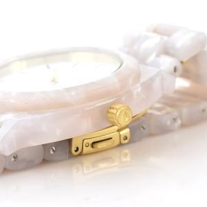 ニクソン NIXON 腕時計 タイムテラー アセテート ホワイト グラニート×ゴールド NA3272031-00 ウォッチ【取寄せ商品】 メンズ|stay|05