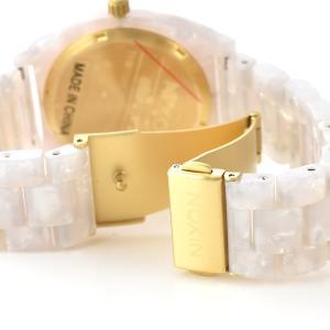 ニクソン NIXON 腕時計 タイムテラー アセテート ホワイト グラニート×ゴールド NA3272031-00 ウォッチ【取寄せ商品】 メンズ|stay|06
