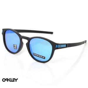 オークリー OAKLEY サングラス ラッチ LATCH OO9349-1453 マットブラック プリズムサファイア メンズ|stay