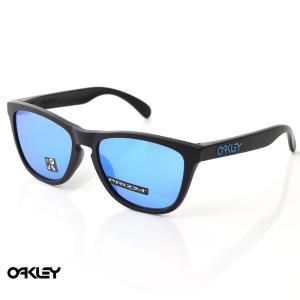 オークリー OAKLEY サングラス フロッグスキン FROGSKINS OO9245-6154 マットブラック プリズムサファイア メンズ|stay
