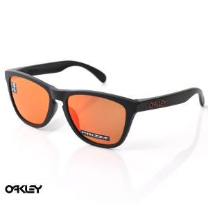 オークリー OAKLEY サングラス フロッグスキン FROGSKINS OO9245-6354 マットブラック プリズムルビー メンズ|stay