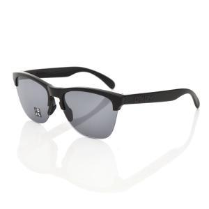 オークリー OAKLEY サングラス フロッグスキン ライト メガネ めがね 眼鏡 メンズ UVカット マットブラックフレーム グレー オークレイ オークレー OO9374-0163|stay